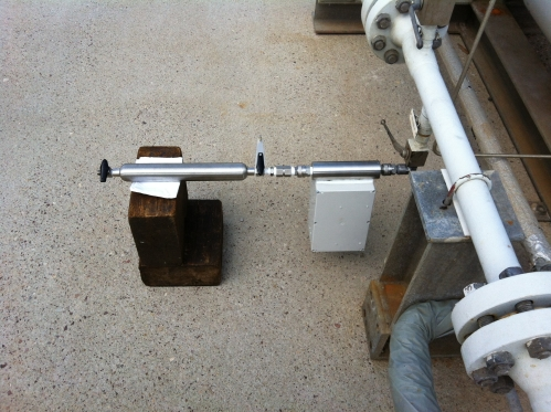 Portable Sounds-Good prototype for measurement in gas columns